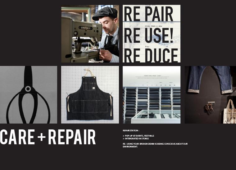 WE moodboard care and repair