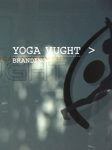 Yoga Vught branding