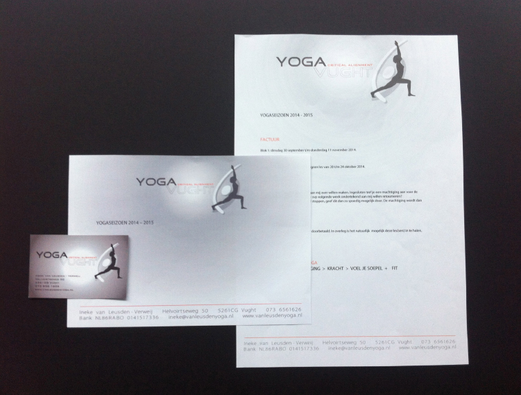 yoga vught huisstijl